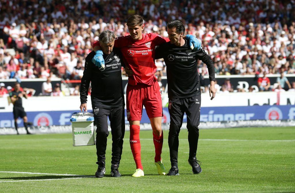 Dem VfB Stuttgart bleibt das Verletzungspech in dieser Saison treu. Foto: Pressefoto Baumann/Hansjürgen Britsch