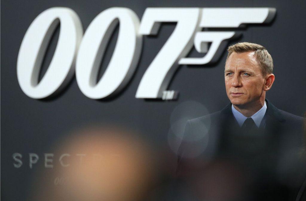 Daniel Craig wird im neuen James-Bond-Film wieder den Hauptdarsteller spielen. Foto: dpa