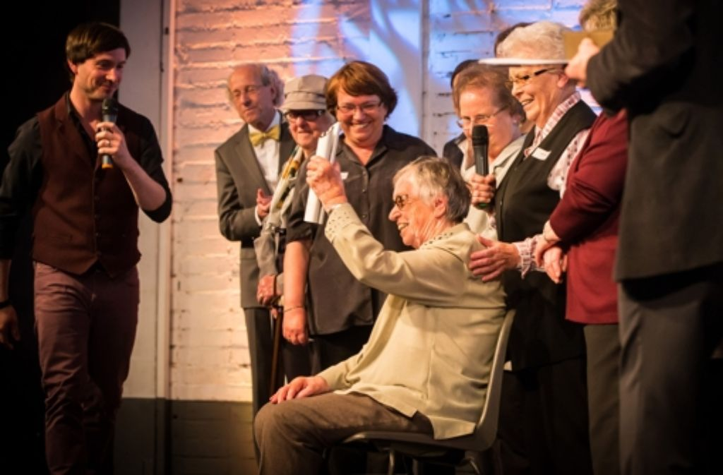 Am Montagabend wurden in den Wagenhallen in Stuttgart zum ersten Mal zehn Stuttgarter des Jahres geehrt. Foto: Achim Zweygarth