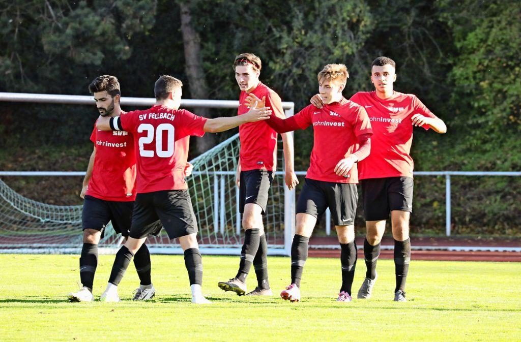 Vorletzter: Der Verbund des SV Fellbach hat in der Verbandsliga noch zu selten Grund zur Freude. Foto: Patricia Sigerist