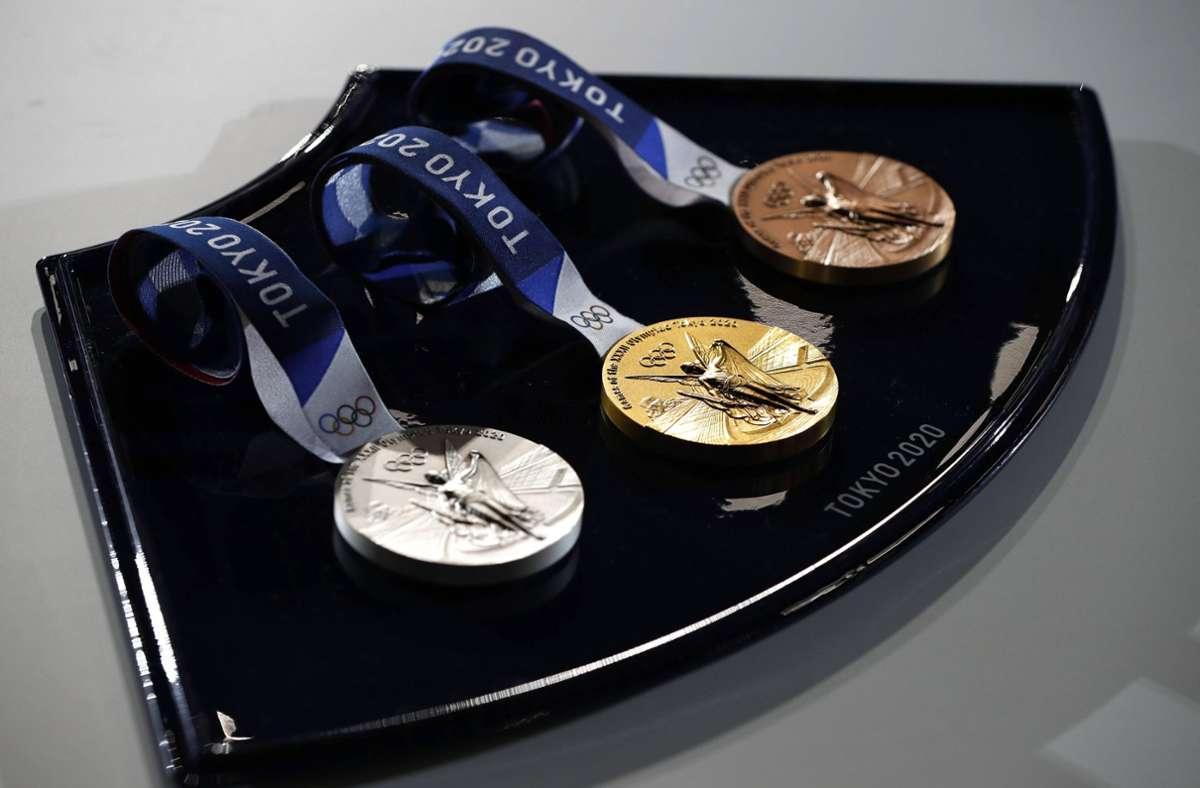 Medaillen der Olympischen Spiele:  Objekte der Begierde Foto: imago images/ZUMA Wire