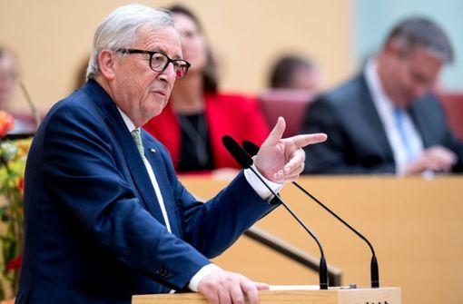 Juncker bestätigt Arbeitstreffen zur Migration
