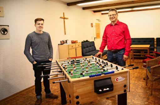 Der Dialog über Bibelstellen ist den jungen Christen wichtig