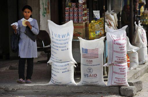 USA kürzen Finanzhilfen für Palästinenser