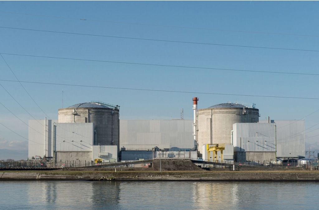 Das Atomkraftwerk in Fessenheim ist umstritten. (Archivbild) Foto: dpa/Patrick Seeger