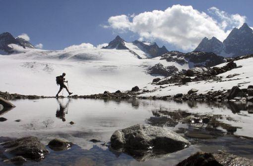 Gletscher verlieren im Hitzesommer massiv an Eis