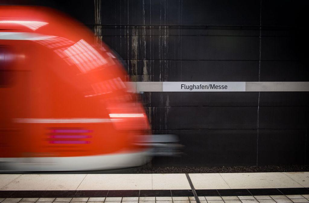Bislang fährt nur die S-Bahn zum Flughafen. Foto: Lichtgut/Achim Zweygarth