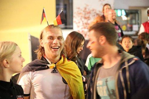So feiert Stuttgart den DFB-Sieg