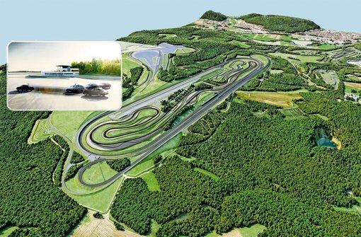 Daimler-Teststrecke kostet 200 Millionen Euro