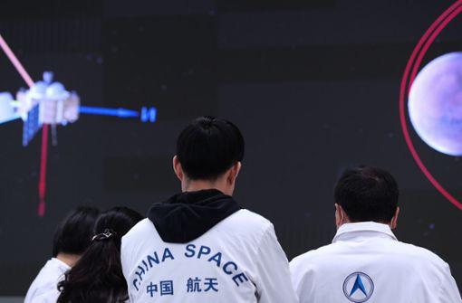 China landet Rover erfolgreich auf dem Mars