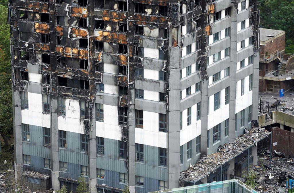 Die Ursache für die verheerende Brandkatastrophe beim Londoner Grenfell-Tower wurde auch auf hoch entzündliche alte Dämmplatten zurückgeführt. Foto: AFP