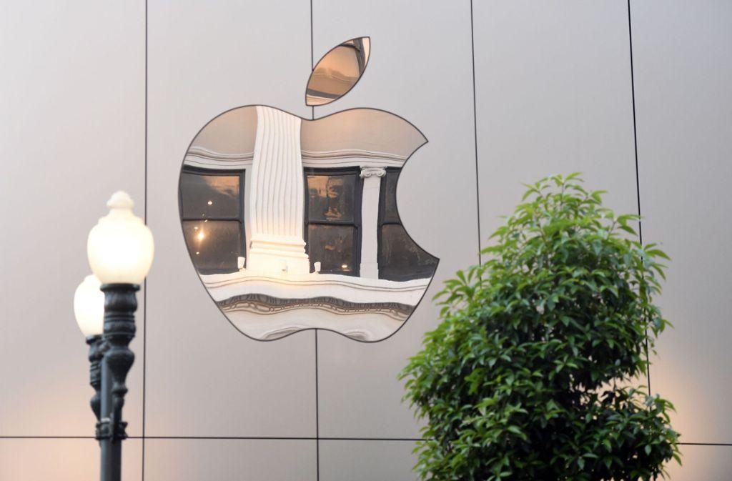 Mit Spannung werden die neuen Produkte von Apple erwartet. Foto: AFP
