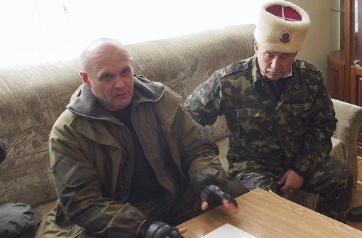 Separatistenführer Mosgowoi getötet