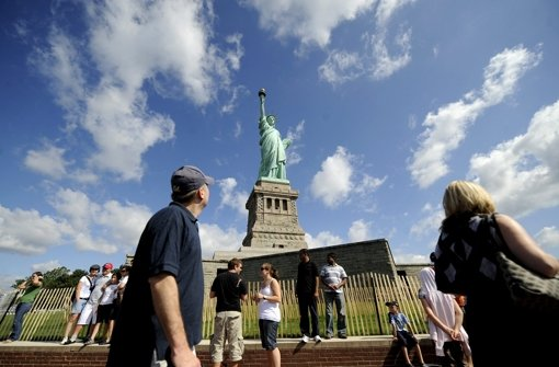 Freiheitsstatue in New York evakuiert