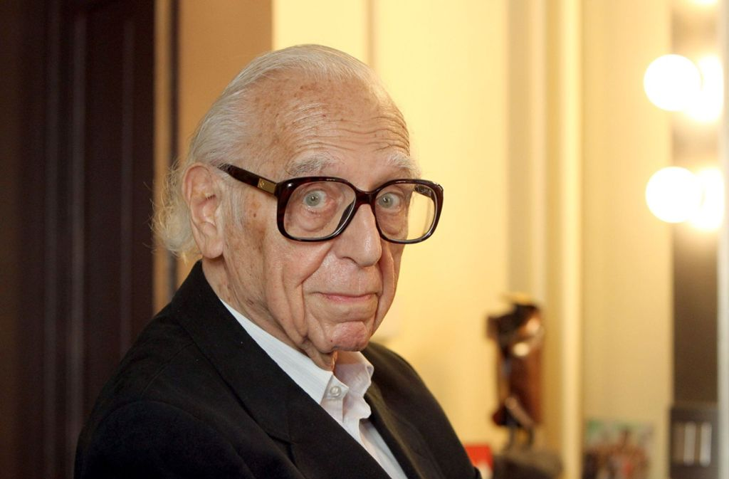 Georg Kreisler (1922 – 2011) Foto: dpa