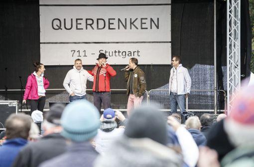 """Geheimdienstausschuss berät über Radikalisierung der """"Querdenken""""-Bewegung"""