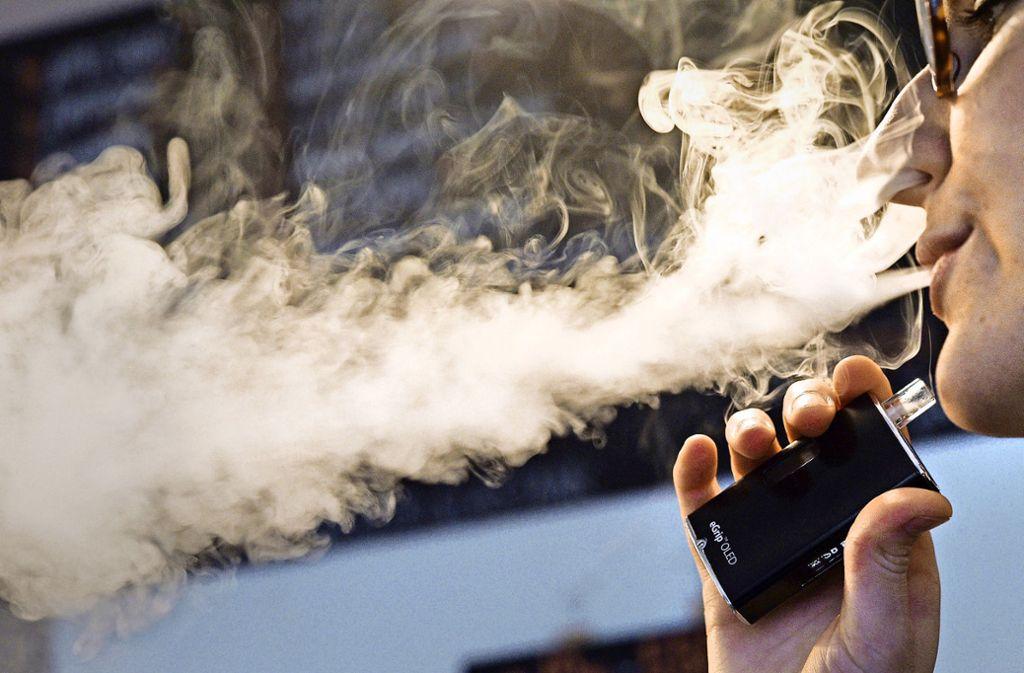 E-Zigaretten genießen weiter Privilegien –  eine EU-weite Besteuerung ist erst einmal vom Tisch. Foto: dpa