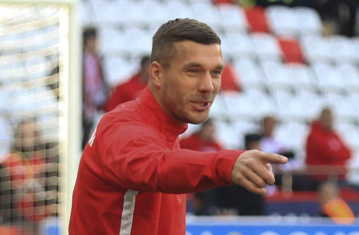 Lukas Podolski Foto: dpa