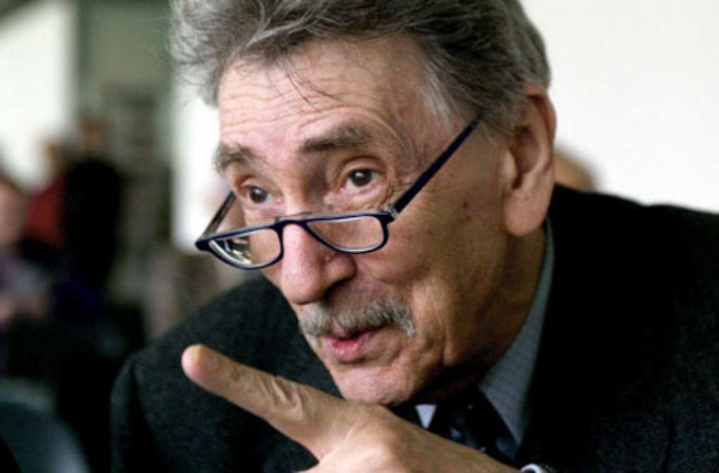 Oskar Pastior arbeitete als IM unter dem Namen Otto Stein. Foto: dpa