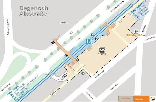 Park-and-Ride-Plätze in Stuttgart