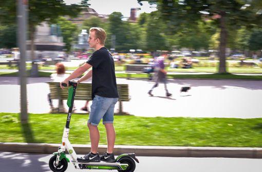 Sind  E-Scooter-Fahrten unfallträchtig?