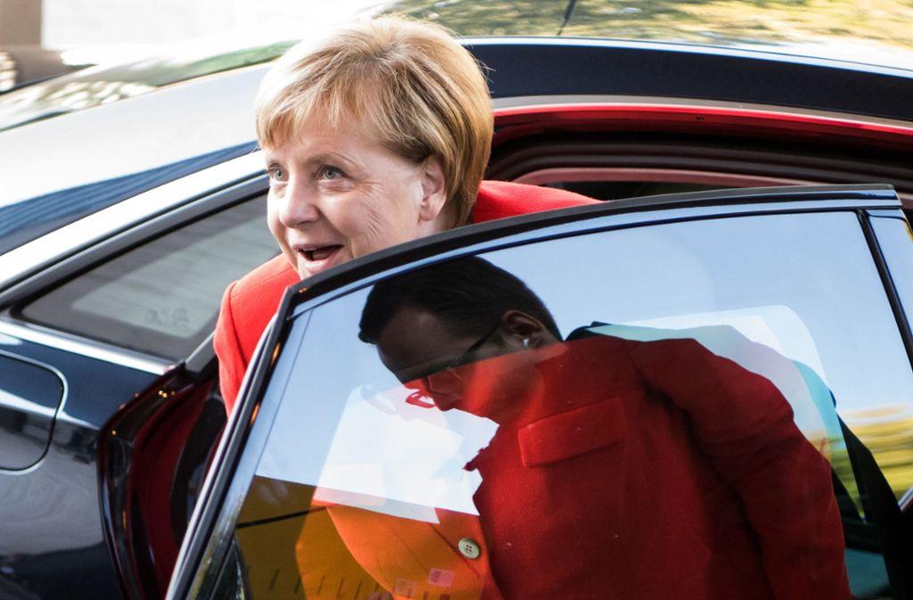 Angela Merkel will Diesel-Fahrer nicht belasten. Foto: dpa