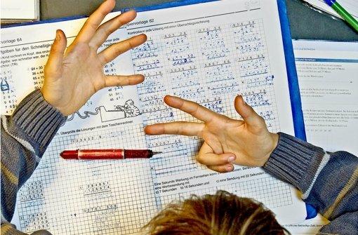 Mathe will gelernt sein – aber das ist schwer, wenn dauernd Unterricht ausfällt. Foto: Mauritius
