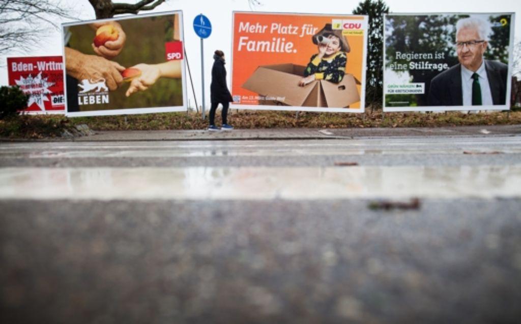 Mit Winfried Kretschmann im Rücken hoffen die Grünen in der Landeshauptstadt auf ein ähnlich überragendes Wahlergebnis wie bei der Wahl 2011. Foto: dpa