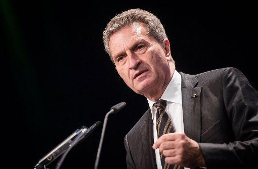 Das sagt Günther Oettinger zum VfB Stuttgart