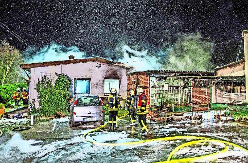 Christbaumbrand verwüstet Wohnhaus