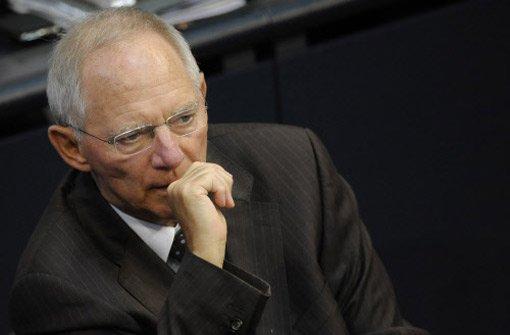 Wann wusste Schäuble wirklich Bescheid?