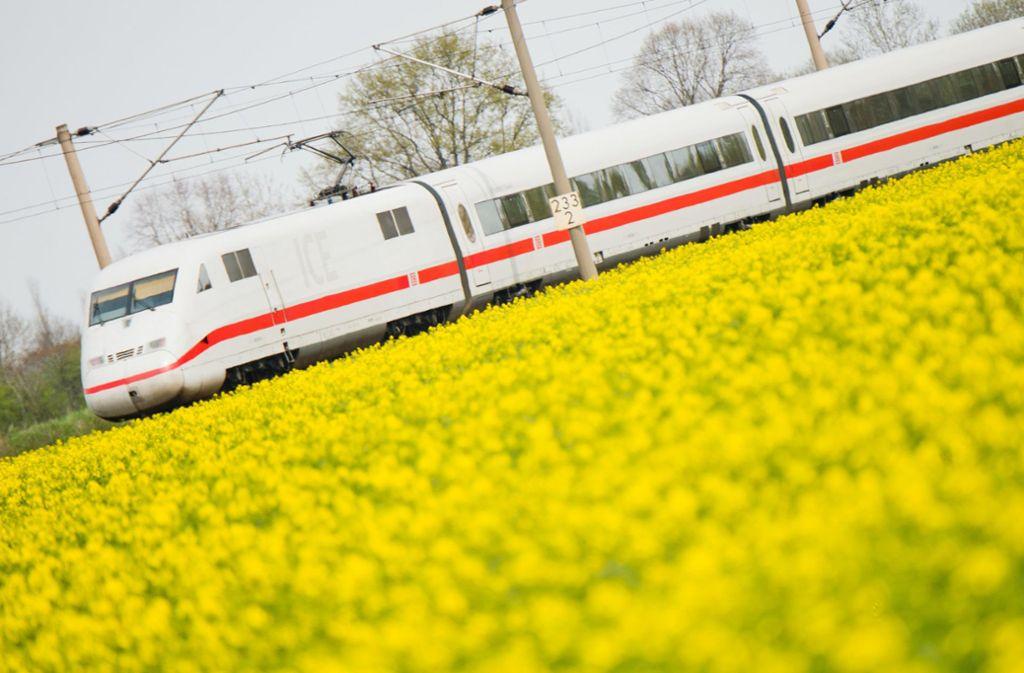 ICE-Reisende zwischen Stuttgart und Mannheim brauchen am Montag starke Nerven. (Symbolbild) Foto: dpa/Julian Stratenschulte