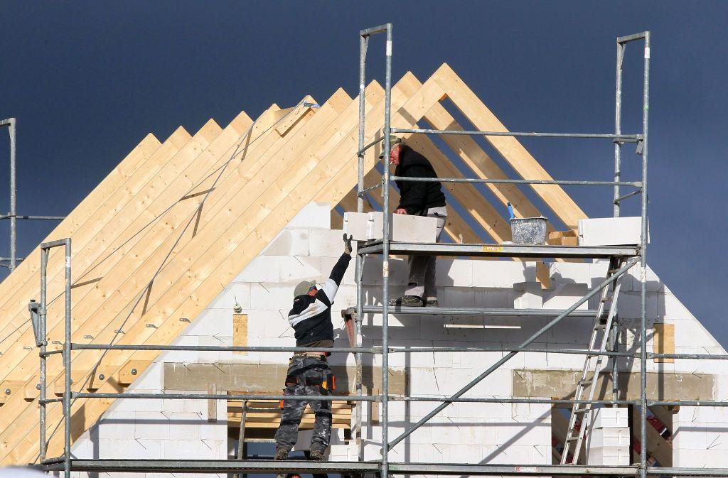 Die geplanten  54 Reihenhäuser werden vor allem jungen Familien eine neue Heimat bieten. Foto: dpa