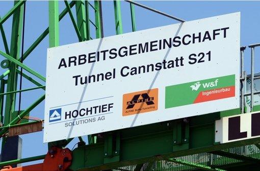 Die CDU will wissen, wie die S21-Bauarbeiten in Bad Cannstatt vorangehen. Foto: dpa