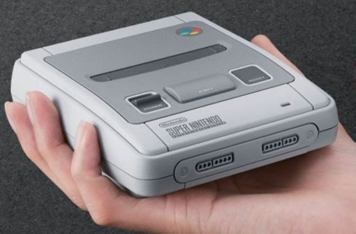 Super Nintendo Mini angekündigt