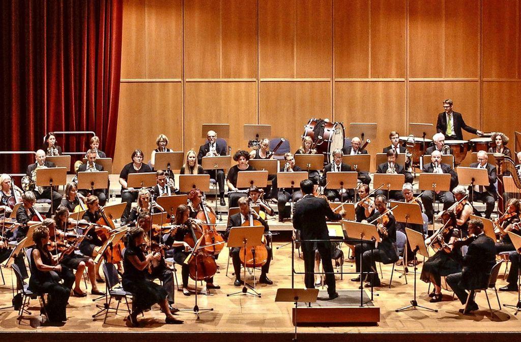 Es war ein tolles Konzert, das das Sinfonierorchester gezeigt hat. Foto: factum/Bach