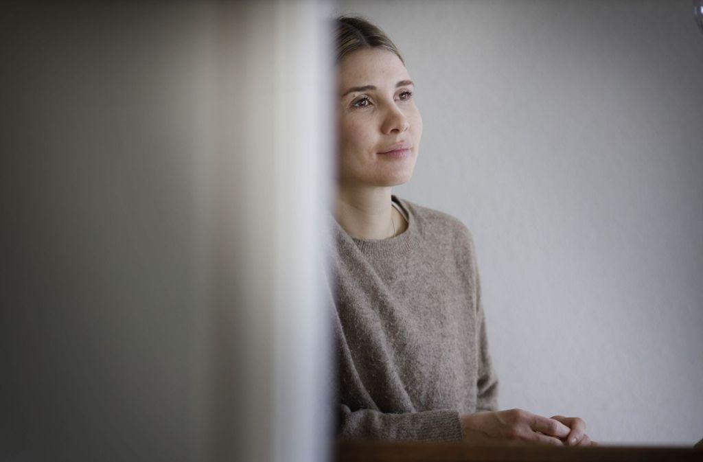 Julia Wössner hält ihre Hilfe für eine hilflosen Frau für ganz normal. Foto: Gottfried Stoppel