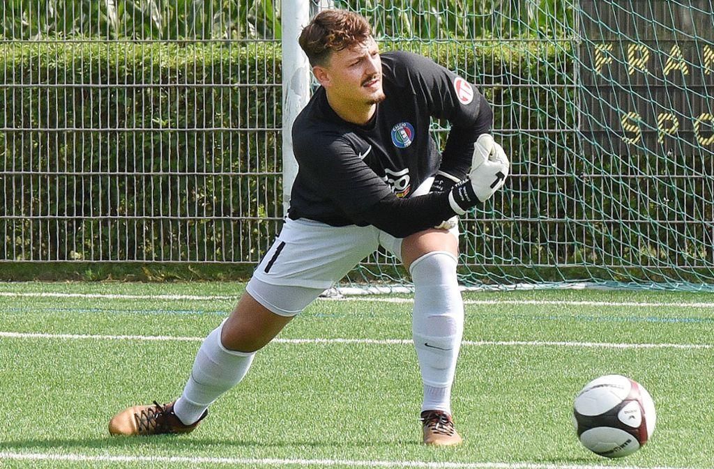 Stark in Form: der Calcio-Keeper Henning Bortel. Foto: Günter Bergmann