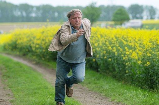 """Lauf, Junge, lauf: Axel Prahl im neuen """"Tatort"""" aus Münster Foto: WDR"""