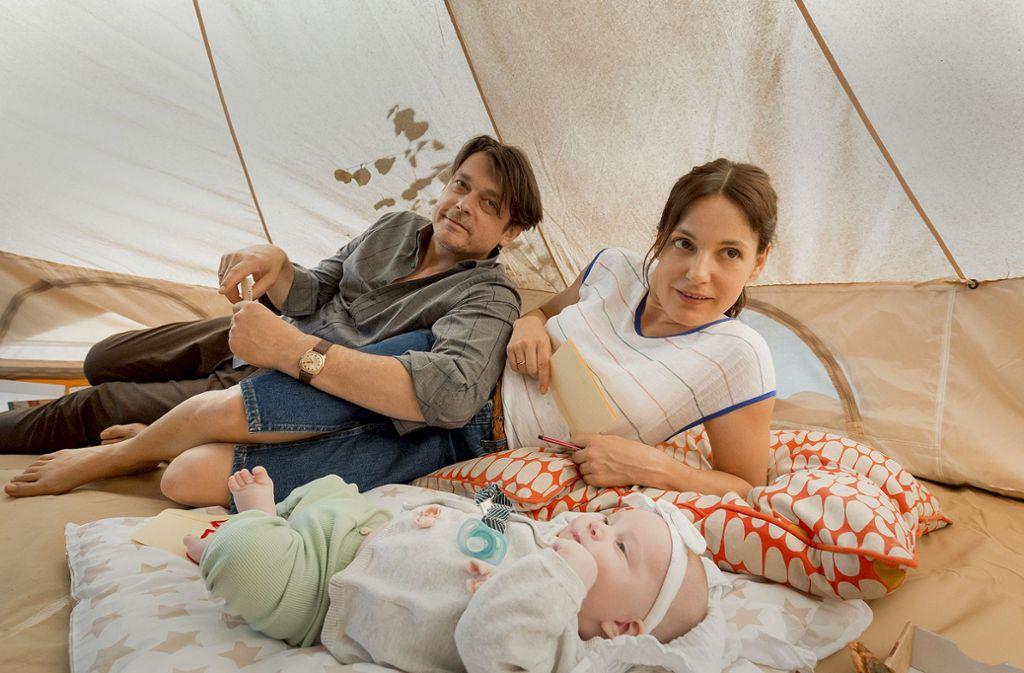 Elternglück im Stresstest: Katrin (Nicolette Krebitz) und Philipp (Hary Prinz) Foto: MDR/Ariane Krampe-Filmproduktion/Steffen Junghans