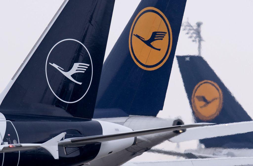 Der Lufthansa-Konzern muss   Schadenersatz an die Bahn zahlen. Foto: dpa
