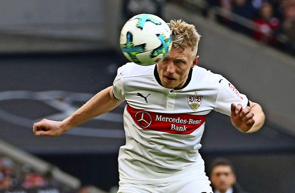 Andreas Beck vom VfB Stuttgart ist nach seiner Verletzung wieder voll einsatzbereit. Foto: Baumann