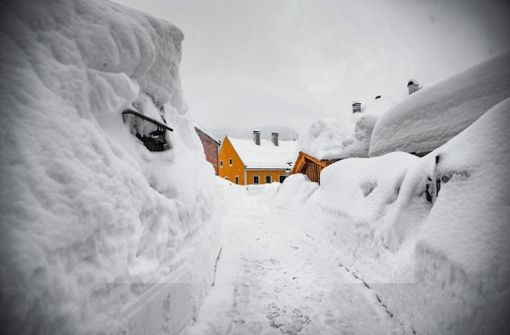 Klimabedingtes Schneechaos?