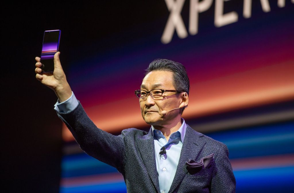 Das neue Smartphone Xperia 1. Foto: dpa