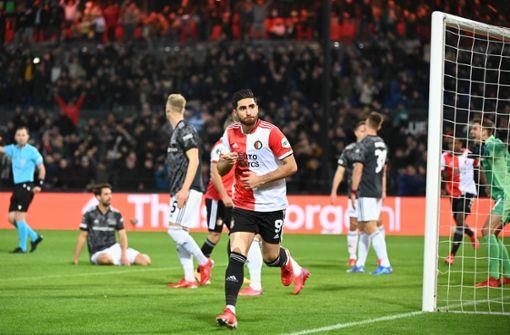 Union Berlin verliert in Rotterdam - Bitteres 1:3 bei Feyenoord