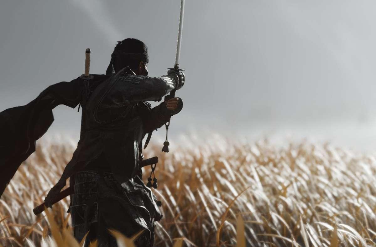 """In """"Ghost of Tsushima"""" kämpft der Spieler als Samurai gegen die mongolische Invasion Japans. Foto: Sony Interactive Entertainmen"""
