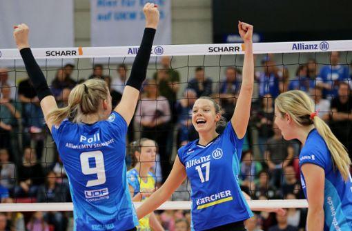 MTV Stuttgart fehlt noch ein Sieg bis zur Meisterschaft