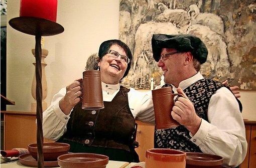 Essen mit Schmatz an Luthers Tafel