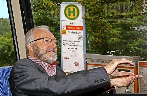 Berg-und-Tal-Fahrt mit Herrn Brechtken