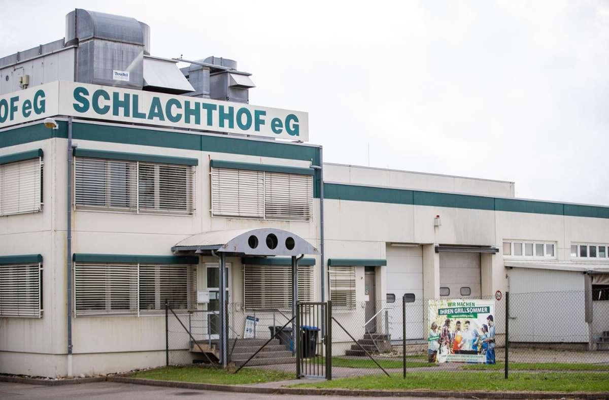 Der Schlachthof braucht etwa vier Millionen Euro Investitionen,  um  wieder dem Tierwohl gerecht zu werden. Foto: dpa/Christoph Schmidt